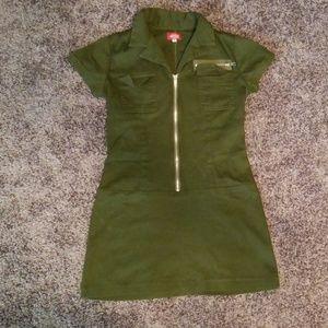 Vintage green dickies dress